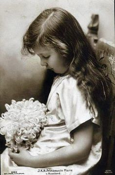Her Imperial Highness Grand Duchess Maria Kirillovna of Russia (1907-1951) was the eldest daughter of Grand Duke Kirill Vladimirovich of Russia and Grand Duchess Victoria Feodorovna. She married Karl, 6th Prince of Leiningen