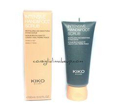 Review: Intensive Hand & Foot Scrub - Kiko Cosmetics