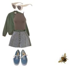 """""""queen Bee"""" by maffee ❤ liked on Polyvore featuring Vans and Miss Selfridge"""