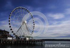 Seattle Great Wheel 1 year old