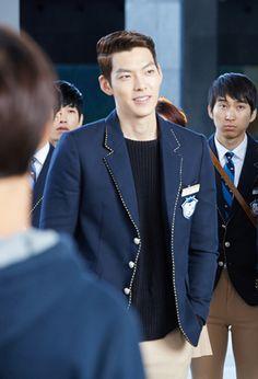 "KIM WOO BIN as Choi Young Do ♡ #Kdrama - ""HEIRS"" / ""THE INHERITORS"""