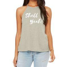 Let's see you wearing this super hot tank. Mermaid Leggings, Mermaid Shirt, Mermaid Cove, Mermaid Outfit, Mermaid Jewelry, Mermaid Style, Plus Size Leggings, Shell, Style Inspiration