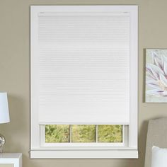 achim cordless honeycomb cellular pleated shade csco23wh06