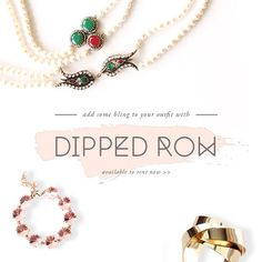 If you've already found the perfect gown and are looking for accessories to match, we're bringing great news for you this Wednesday! Visit our website today to check out all the new necklaces and bracelets available for rent for your next event or party. No need to thank us, we're always ready to help!