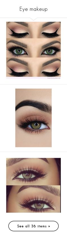 """Eye makeup"" by basketballislife11 ❤ liked on Polyvore featuring beauty products, makeup, eye makeup, beauty, eyes, make, makeup/nails, backgrounds, black and eyeshadow"