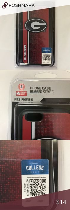 Collegiate Licensed Product IPhone 6/6s Phone Case New University of Georgia iPhone 6/6s Phone Case. Retail price $29.99 Accessories Phone Cases