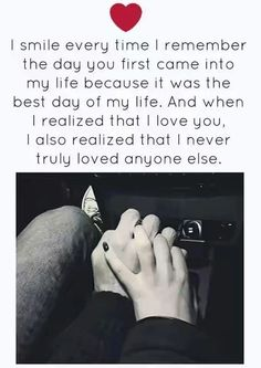 I couldn't love anyone else,because I've finally found the one Love I've been craving for my whole life Heart Touching Love Quotes, Soulmate Love Quotes, Sweet Love Quotes, Love Husband Quotes, Love Quotes For Her, Romantic Love Quotes, Love Yourself Quotes, Quotes For Him, Words Quotes