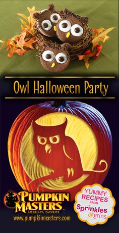 Make your Carving Party owl themed!