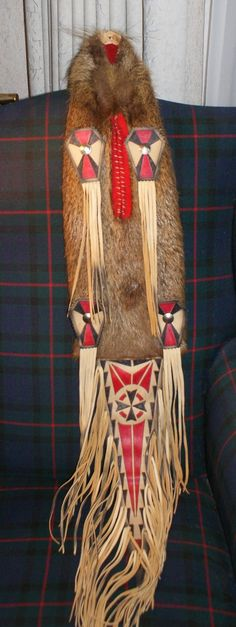 Beaver Medicine Bag in my collection.