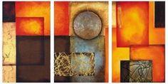 pinturitas...(eli padilla): Tripticos Abstractos-Minimalistas