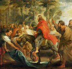 De intocht van Christus in Jeruzalem door Peter Paul Rubens, 1632