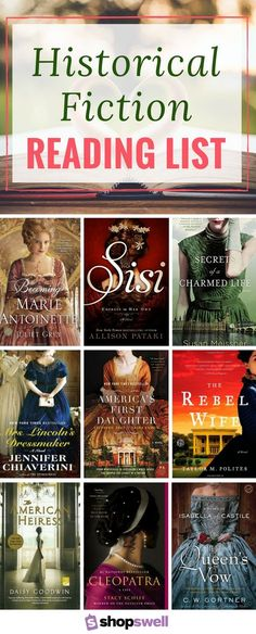 30+ historical fiction novels I have loved or that are currently on my reading list. So many amazing books, here!