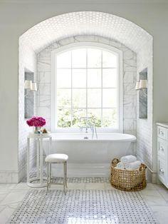 luxury bathroom tile floor - Google Search