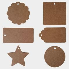 Textured Brown Kraft 2 Inch Diameter Circle Labels with Template and Printing Instructions, 5 Sheets, 100 Labels Diy And Crafts, Arts And Crafts, Paper Crafts, Printable Tags, Hang Tags, Birthday Decorations, Scrapbook Paper, Scrapbooking, Handicraft