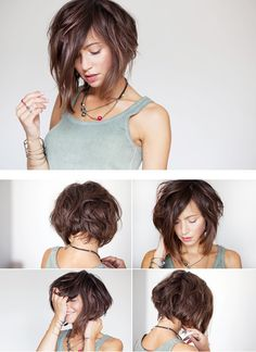 Most Coveted Bob Hairstyle Inspirations for 2018 - CrochetingNeedles . The Most Coveted Bob Hairstyle Inspirations for 2018 - CrochetingNeedles .The Most Coveted Bob Hairstyle Inspirations for 2018 - CrochetingNeedles . Curly Hair Styles, Curly Bob Hairstyles, Hairstyles With Bangs, Pretty Hairstyles, Medium Hair Styles, Bob Haircuts, Bangs With Medium Hair, Short Hair Cuts, Great Hair