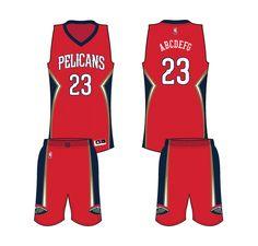 0c9cbcc6d New Orleans Pelicans Alternate Uniform 2015- Present New Orleans Pelicans