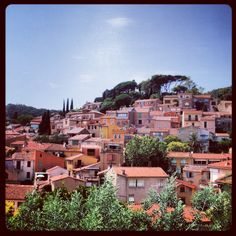 Village de Bormes les Mimosas, Côte d'Azur