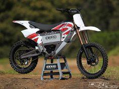 Canadian based Zero Motorcycles electric powered Zero MX dirt bike.