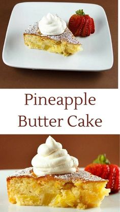How to make a Pineapple Butter Cake – Chef Dennis How to make a Pineapple Butter Cake. Take a bite out of this rich, and delicious dessert and you won't be disappointed. It's a heavenly sweet treat for any day of the week. Recipe by Ask Chef Dennis Fresh Pineapple Recipes, Pineapple Desserts, Köstliche Desserts, Delicious Desserts, Yummy Food, Easy Cake Recipes, Baking Recipes, Yummy Recipes, Recipes Dinner