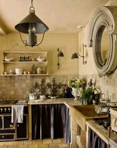 Amazing provence kitchen