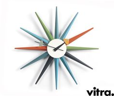 SUNBURST WALL CLOCK - George Nelson VITRA
