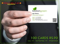 Qr Code Business Card, Business Cards Online, Premium Business Cards, Card Printing, Landscape Design, Creative Design, Range, India, Free Shipping