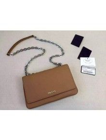 Prada 1BB011 Small Inside Top Handle Bag Marble+Olive Green Fall ... - prada inside bag cinnamon + turquoise