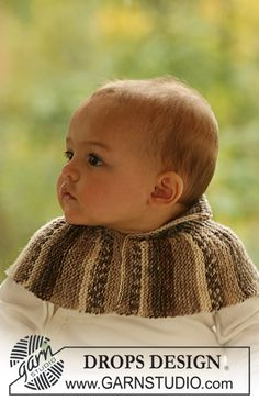 "DROPS neck warmer in garter st in ""Fabel"". ~ DROPS Design"