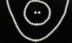 $19 for Freshwater-Pearl Necklace, Bracelet, and Earrings (75 Dollars List Price). Free Shipping and Returns. in Online Deal. Groupon deal price: $19.0.00