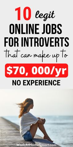 Looking for the best online jobs for introverts personality type. Great! Here is a list of high paying remote jobs for introverts to make money working alone at home. Legit Work From Home, Legitimate Work From Home, Work From Home Jobs, Introvert Personality, Legit Online Jobs, Work From Home Companies, Remote, Blogging, How To Make Money