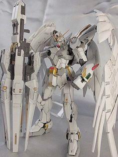 Custom Build: RG 1/144 Wing Gundam Zero Custom EW ver. + Drei Zwerg - Gundam Kits Collection News and Reviews