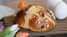 Osterbrot - herrlich fluffig aus Hefeteig - BrotAberLecker Pampered Chef, Good Food, Food And Drink, Muffins, Sweets, Bread, Healthy Recipes, Baking, Cake