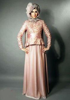 ideas dress brokat remaja model for 2019 Kebaya Muslim, Kebaya Hijab, Kebaya Dress, Muslim Dress, Evening Dress 2015, Hijab Evening Dress, Hijab Dress, Evening Dresses, Lovely Dresses