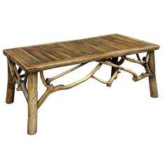 Teak Lodge Coffee Table - AFD Home