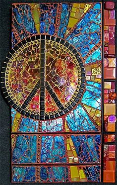 Peace mosaic- Susan Crocenzi