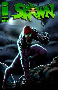 current jam theme --> [link] Current jam: Re draw any of the Redesigns done in the IMAGE Redesign JAM Pick any of the designs people did (BUT NOT YOU. SPAWN: Here Lies Al Simmons. Rogue Comics, Spawn Comics, Comic Book Characters, Comic Books, Fictional Characters, Demon Art, Image Comics, Dark Ages, Rogues