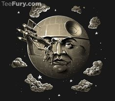 """That's No Trip to the Moon by John Sumrow (""""""""That's No Trip to the Moon!"""" This is a mashup of two of the most influential Sci Fi movies."""")"""