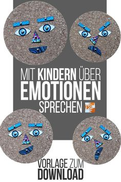 Talk to children about emotions: feelings are abstract. Emotions Activities, Activities For Kids, Token System, Kindergarten Portfolio, Emotion Faces, School Of Rock, Sewing Box, Kids Health, Primary School