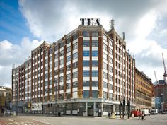 Tea Building in London by AHMM #office #design #shoreditch