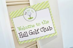 Golf party: Cormick is 2! | Chickabug