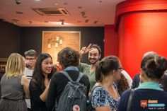 Nice Picture from Our HAPPYzza Rossa Party at Pizza Rossa.