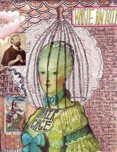 anahata katkin: Marie Antoinette Colab zine.