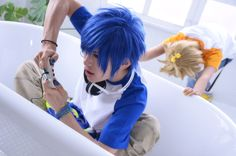 Cosplay  Vocaloid/Kagamine Len, Kaito