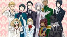 Black Butler Sebastian Demon Form | Black Butler-Kuroshitsuji ~ Anime - Cosplay & Beyond