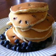 Blueberry Pancakes - What's Cooking with Jim
