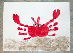 handprint crab