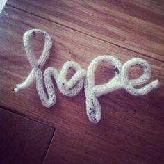 Hope #hope#speranza#passiontricotin #tricot #tricotin #knit #knitting #parole #paroleinlana#lana#diy#faidate #homemade #shabby #shabbychic #fashion #fattoamano #picoftheday #lana#laine#italy #italia #