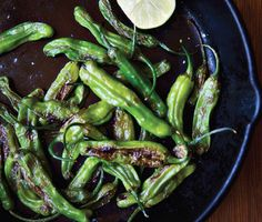 Find the recipe for Sautéed Shishito Peppers: Summer's Best New Bite and other pepper recipes at Epicurious.com
