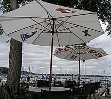 Sail La Vie: Patio Umbrella (Recycled Sailcloth Shade Umbrella)