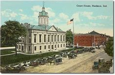 Jefferson County Court House, Madison, Indiana  | My Grandparents were Married here in 1938. <3